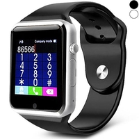 Special Watches & Measuring Devices  - A1 Smart Watch Phone 0.3MP Camera Dialer Reminder Sleep Monitor