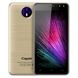 "Mobile Phones  - Cagabi ONE 5.0"" HD MT6580A Quad-core Android 6.0 3G Phone"