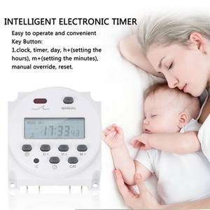 Hair Dryers & Hot Air Brushes  - DC 12V 16A Digital LCD Power Programmable Timer Time Switch Relay