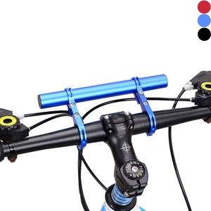 Other  - [Double-Bar] Bike Handle Bar Extender Aluminum Alloy for 25.4/31.88mm