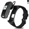 F50 Smart Bracelet Bluetooth Headset USB Disk Heart Rate Monitor