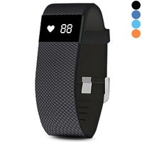 Special Watches & Measuring Devices  - IDO ID100 Smart Bracelet Pedometer Calorie Heart Rate Monitor