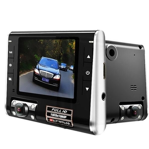 Portable TV Devices  - K8000 Car DVR 2.7 Inch TFT Screen 1080P HD Vehicle Dash Camera