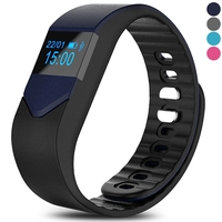 Special Watches & Measuring Devices  - M3S Smart Bracelet OLED Pedometer Heart Rate Calorie Mileage Monitor