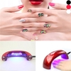 Mini Nail Dryer Rainbow Shape LED Light Therapy Machine Nail Art Tool