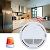 Photoelectric Wireless Smoke Detector Fire Alarm