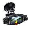 "R310 Car DVR 2.7"" LCD Screen Rotating Dual Lens Vehicle DVR"