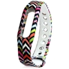 Replaceable TPU Colorful Wave Miband / 1S Bracelet Strap Band