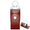 UV-P06 64GB Lightning Micro USB Standard USB Leather USB Stick