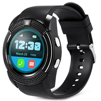 Special Watches & Measuring Devices  - V8 Smart Watch Phone Bluetooth Dialer 0.3MP Camera Reminder Pedometer
