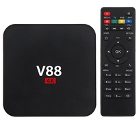 Television Sets  - V88 RK3229 Quad Core Android 5.1 WiFi 1GB 8GB 1.5GHz Smart TV Box