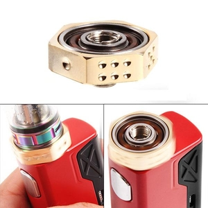 Chargers  - Vape Hand Spinner Fidget Toy with Heat Sink for E-Ciga - Gold
