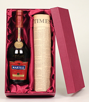 Personalised Gifts  - Whisky & Newspaper
