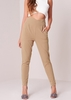 Jesy Camel High Waisted Cigarette Trousers