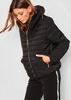 Olivia Black Quilted Puffer Coat