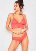 Sachia Red Lace Lingerie Set
