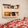 Furniture Sets Children's Bunk Bed Shelf in a Natural Finish By Tidy Books