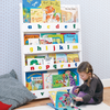Furniture Sets Children's White Bookcase with Alphabet Letters By Tidy Books
