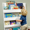 Furniture Sets Children's White Bookcase without Alphabet Letters By Tidy Books