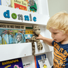 Furniture Sets Children's White Personalised Bookcase By Tidy Books