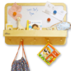 Furniture Sets Magnetic Children's Notice Board with a Natural Border By Tidy Books