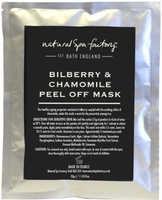 Face Masks  - Natural Spa Factory Bilberry & Chamomile Face Mask 30g