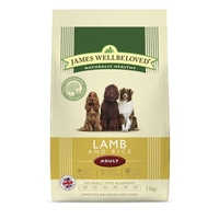 Dog Food  - James Wellbeloved Complete Adult Food Lamb and Rice 7.5kg