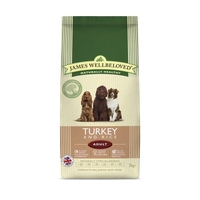 Dog Food  - James Wellbeloved Complete Adult Food Turkey and Rice 2kg