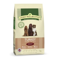 Dog Food  - James Wellbeloved Complete Adult Food Turkey and Rice 7.5kg