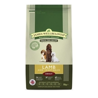 Dog Food  - James Wellbeloved Complete Grain Free Lamb and Vegetable 10kg