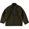 Men's FILSON ORIGINAL DOUBLE MACKINAW CRUISER JACKET FOREST GREEN ALASKA FIT