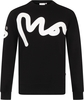 Money Big Sig Crew Neck Sweatshirt Jet Black - S (36-38in)