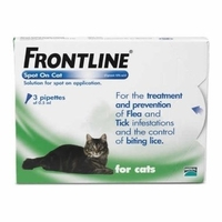 Frontline Spot On Cat (3 pipettes)