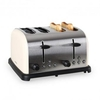 4-slice Stainless Steel Toaster 1650W - Cream