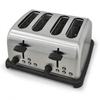 4-slice Stainless Steel Toaster 1650W - Silver