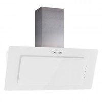 Smoke Hoods & Extractors  - Lorea Extractor Hood  90cm 280 m³/h Touch Panel Glass white