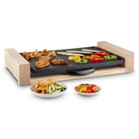 Grills  - Lumberjack table top electric grill 2300W - rustic wood