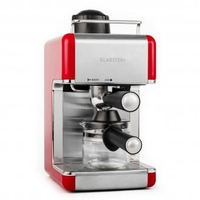 Coffee Makers  - Sagrada Rossa Espresso Machine Stainless Steel 800W 4 Cups - red