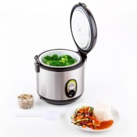 Sandwich Makers  - Sapporo Rice Cooker 1 Litre Stainless Steel