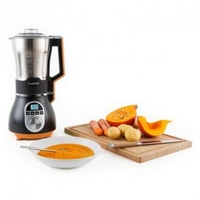 Food Processors & Mixers  - Soup Chef Soup Maker Stainless Steel 900W 1.75l 100 Degrees Orange