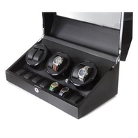 Watch Cases  - Watch Winder Display Case Holds 13 Watches