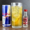 Birthday Personalised Vodka and Red Bull Gift Set