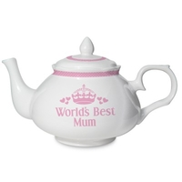 Gifts for Women  - Personalised Worlds Best Teapot