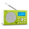 Receivers & Tuners Auna IR-140-GN Internet Radio Media Player WiFi LAN USB DAB / DAB + FM RDS Green