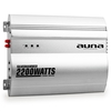 Auna Silverhammer 2-Channel Car Amplifier 200W