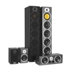 auna V9B Surround Speaker Set 5 Box Set 440W RMS Black