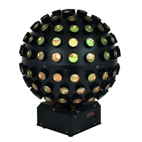Stage Spotlights  - Eurolite LED B-40 Beam Effect RGB-LEDs Disco Light Mirror Ball