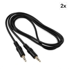 FrontStage 3.5mm Jack Cable Set 2-pc 1.5m Stereo