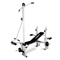 Training & Weight Lifting Benches  - Klarfit FIT-HB2RT Multi Gym Weight Bench Training Station