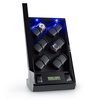 Klarstein Klingenthal 12 Watches Watch Winder Right-Left-Run LED Touch Black Pure Handmade